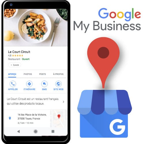 Crée sa fiche google My Business
